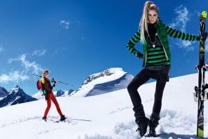 Les tenues de ski à la mode