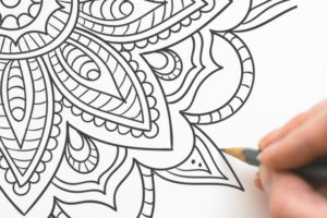 Coloriage Mandala anti-stress