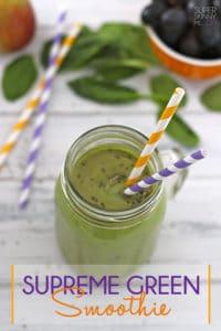Comment rendre un smoothie vert délicieux ?