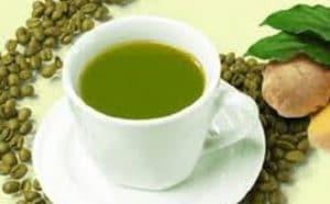 thé au café vert